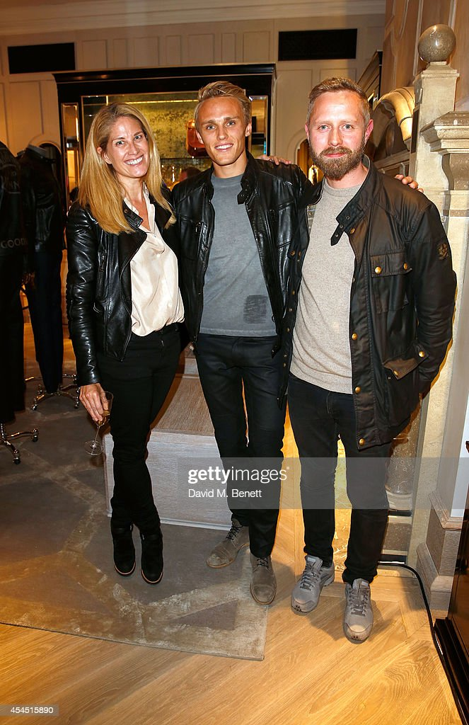 Belstaff By Goodwood Celebration Co-Hosted By Max Chilton And The Earl of March