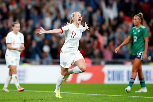 GBR: England v Northern Ireland: Group D - FIFA Women's WorldCup 2023 Qualifier