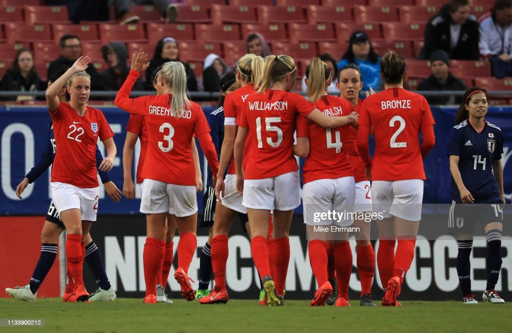 2019 SheBelieves Cup - England v Japan : News Photo