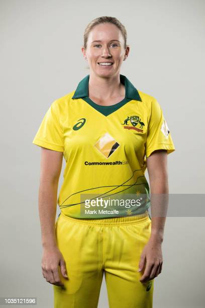Beth Mooney poses during the Cricket Australia Women's National Squad Player Camp on September 13 2018 in Sydney Australia