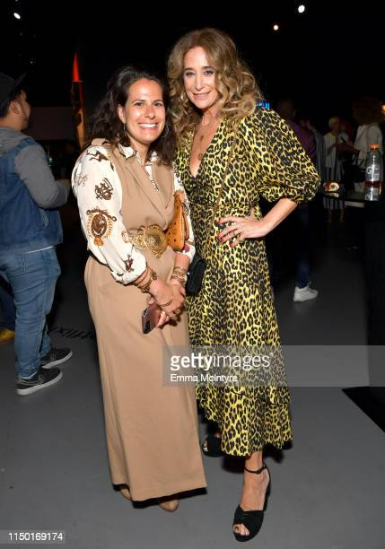 Beth Morgan and Allyson Fanger attend the Netflix FYSEE Craft Day at Raleigh Studios on May 18 2019 in Los Angeles California