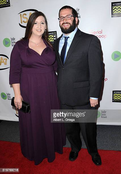 Beth Newcomb and Matt Newcomb at the 7th Annual Indie Series Awards held at El Portal Theatre on April 6 2016 in North Hollywood California
