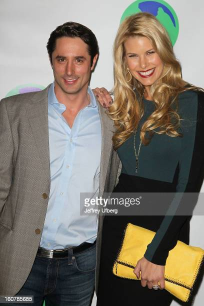 Beth Orstros Stern and Lorenzo Borghese attend the Animal AID One Year Anniversary Celebration at Thomson Hotel LES on February 5, 2013 in New York...