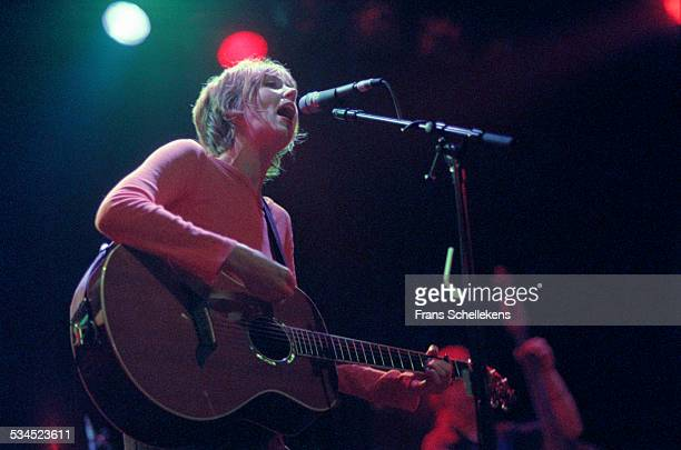 Beth Orton, vocals and guitar, performs on September 21st 1999 at the Melkweg in Amsterdam, Netherlands.
