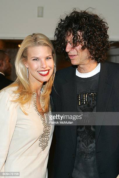 Beth Ostrosky and Howard Stern attend Jon Bon Jovi and Kenneth Cole Team Up For An Unforgettable Night of Fundraising At 'RSVP To Help' at Tribeca...