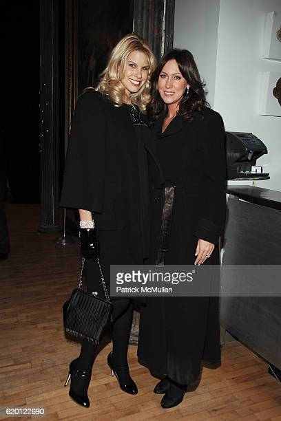 Beth Ostrosky and Melissa Zapin attend The Tribeca Ball 25th Anniversary at The New York Acadamy of Art on February 12 2008 in New York City