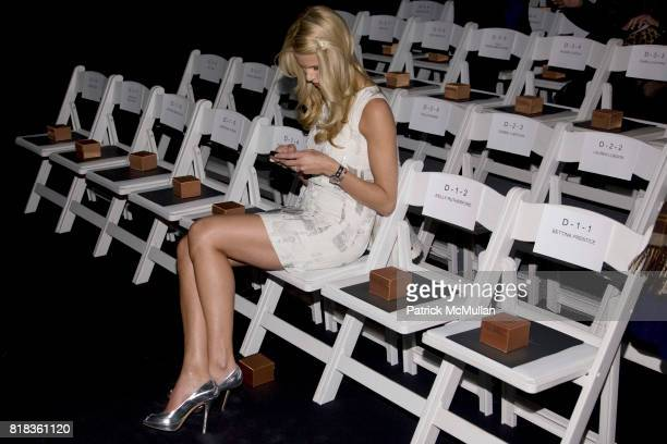 Beth Ostrosky attends NICOLE MILLER Fall 2010 Collection at Bryant Park Tents on February 12 2010 in New York City