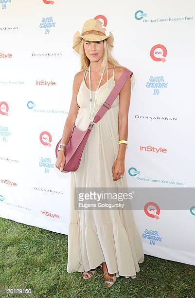 Beth Ostrosky attends Super Saturday 14 To Benefit OCRF Hosted By Emma Roberts Kelly Ripa Donna Karan Instyle at Nova's Ark Project on July 30 2011...