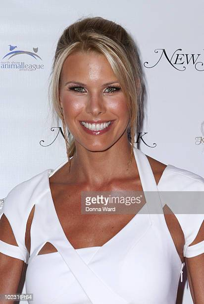 Beth Ostrosky attends the opening of Upstairs At The Kimberly Hotel on June 22 2010 in New York City