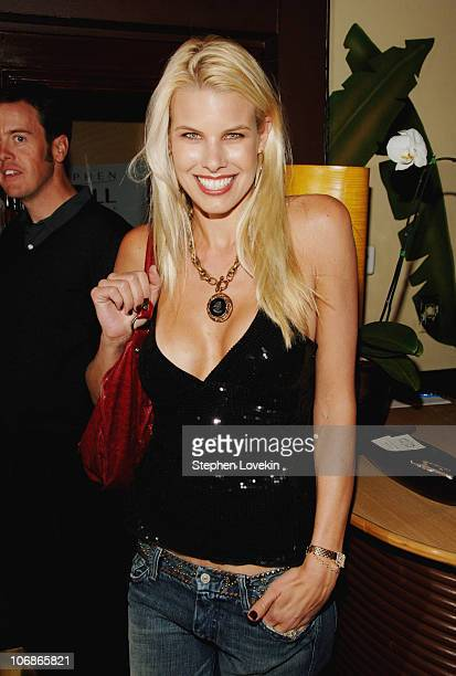 Beth Ostrosky during Cindy Crawford and Patrick MacDonald Host Party Celebrating the Launch of Stephen Knoll New York at Indochine in New York City...