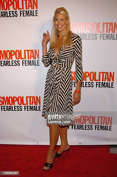 Beth Ostrosky during Cosmopolitan's 40th Birthday Bash at Skylight Studios in New York City New York United States