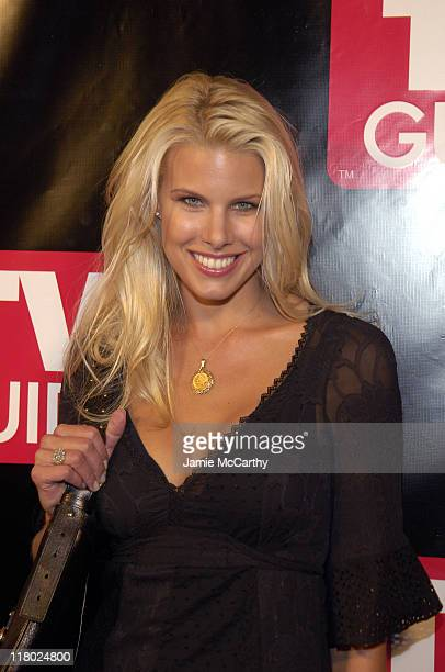 Beth Ostrosky during Launch of The New Big TV Guide at Home and Guest House in New York City New York United States