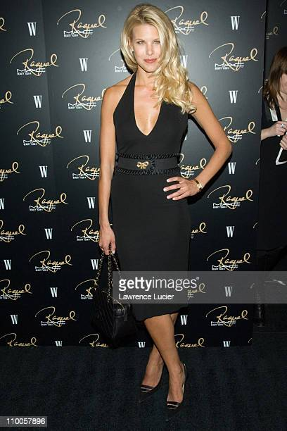 Beth Ostrosky during MAC Cosmetics Honored Raquel Welch as the New Beauty Icon Arrivals at Gilt The New York Palace Hotel in New York City New York...