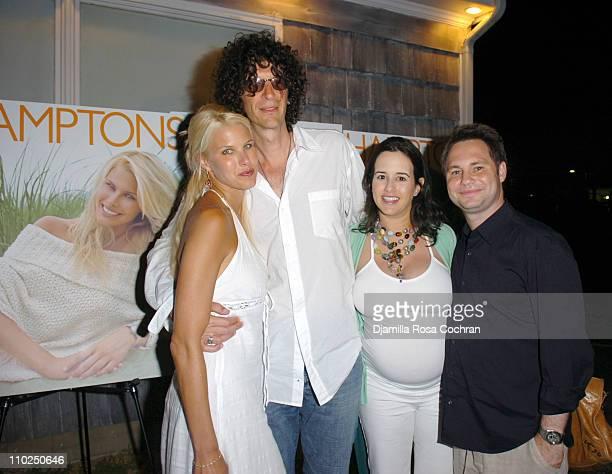 Beth Ostrosky Howard Stern Haley Lieberman and Jason Binn