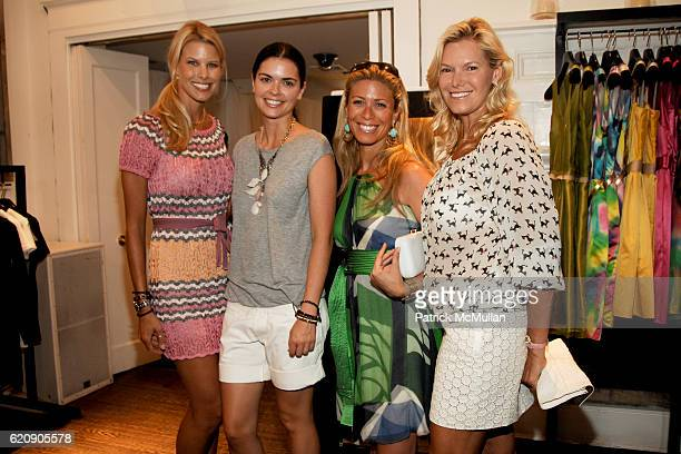 Beth Ostrosky, Katie Lee Joel, Jill Martin and Avis Richards attend DOLCE & GABBANA Luncheon and Fall 2008 FASHION PRESENTATION Hosted by Samantha...
