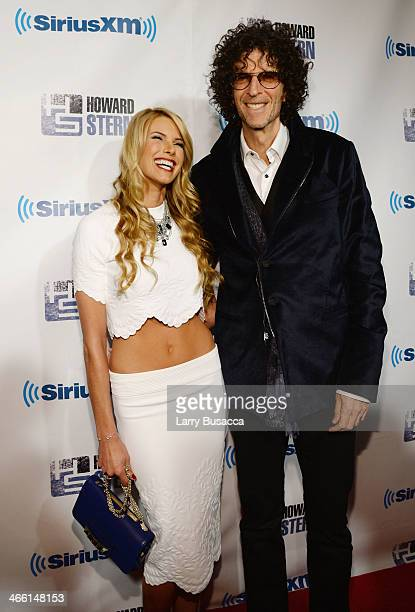 Beth Ostrosky Stern and Howard Stern attend Howard Stern's Birthday Bash presented by SiriusXM produced by Howard Stern Productions at Hammerstein...