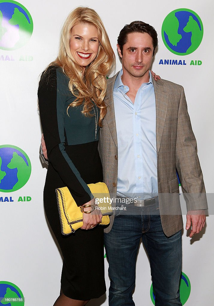 Beth Ostrosky Stern (L) and Prince Lorenzo Borghese attend Animal AID One Year Anniversary Celebration at Thomson Hotel LES on February 5, 2013 in New York City.