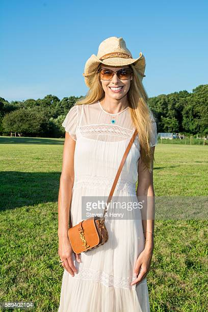 Beth Ostrosky Stern attends the 10th Annual Get Wild Summer Benefit on August 13 2016 in Bridgehampton New York