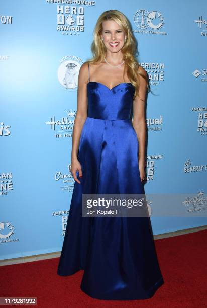 Beth Ostrosky Stern attends the 9th Annual American Humane Hero Dog Awards at The Beverly Hilton Hotel on October 05, 2019 in Beverly Hills,...