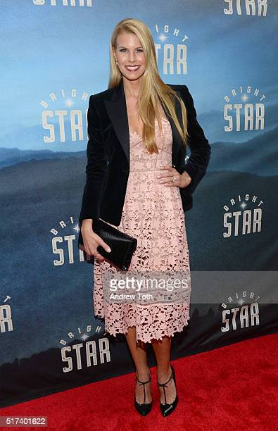 Beth Ostrosky Stern attends the Bright Star opening night on Broadway on March 24 2016 in New York City