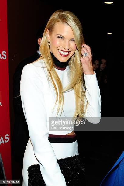 "Beth Ostrosky Stern attends the Paramount Pictures with Paramount Pictures with The Cinema Society & Svedka Host a Screening of ""Office Christmas..."