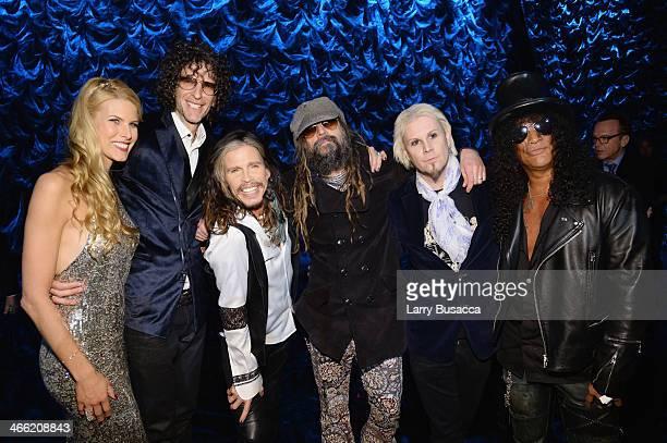 Beth Ostrosky Stern Howard Stern Steven Tyler Rob Zombie John 5 and Slash attend Howard Stern's Birthday Bash presented by SiriusXM produced by...