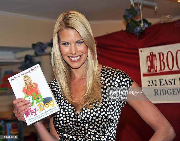 """Beth Ostrosky Stern promotes """"Oh My Dog"""" at Bookends Bookstore on May 11, 2010 in Ridgewood, NJ."""