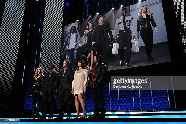 Beth Riesgraf Aldis Hodge Timothy Hutton Gina Bellman and Christian Kane attend the TEN Upfront presentation at Hammerstein Ballroom on May 19 2010...