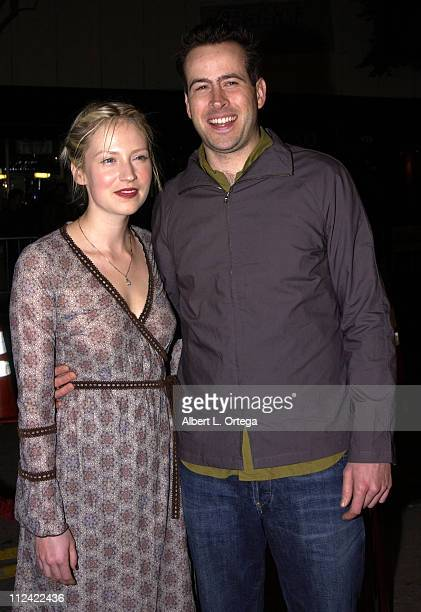 Beth Riesgraf and Jason Lee during A Guy Thing Premiere at Mann's Bruin Theater in Westwood California United States