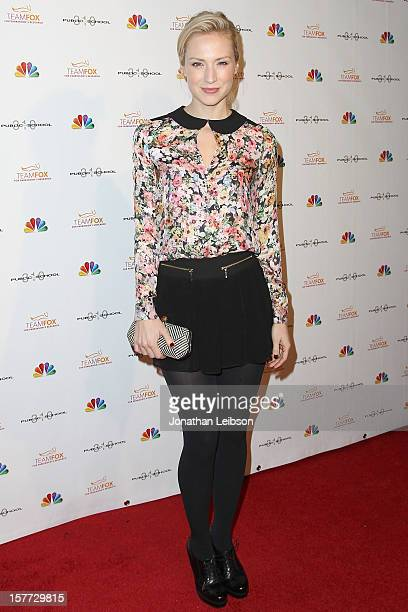 Beth Riesgraf attends the Raising The Bar To End Parkinson's on December 5 2012 in Culver City California