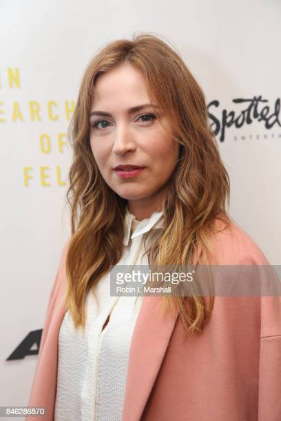 Beth Riesgraf attends the screening of 'In Search Of Fellini at Laemmle Monica Film Center on September 12 2017 in Santa Monica California