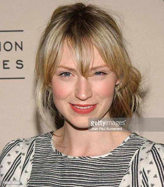 Beth Riesgraf during An Evening with My Name is Earl Presented by Academy of Television Arts Sciences Arrivals at Leonard H Goldenson Theatre in...