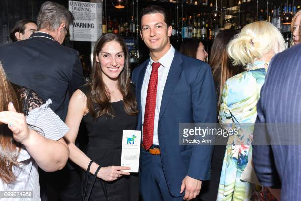 Beth Rozner and Adam Rozner attend Elizabeth Shafiroff and Lindsey Spielfogal Host the First Annual Global Strays Fund Raising Party at Rumpus Room...