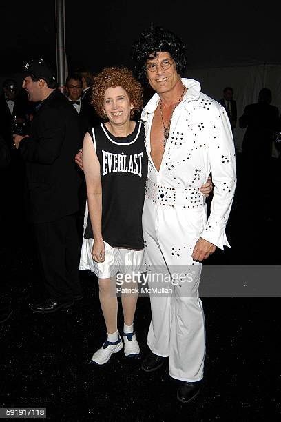 Beth Rudin DeWoody and Andrew Klink attend Halloween Ball for the Central Park Conservancy at Rumsey Field on October 26 2005 in New York City