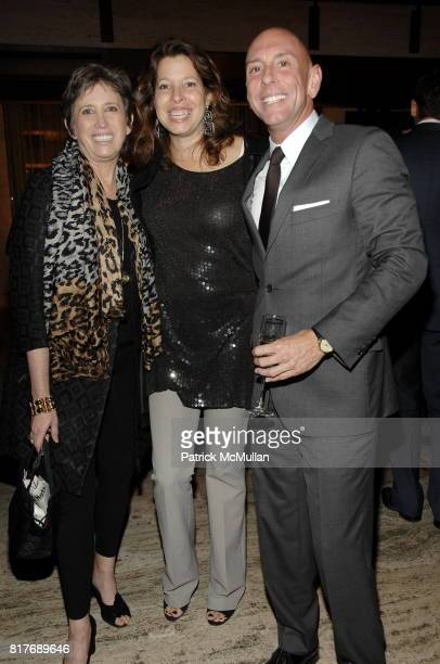 Beth Rudin DeWoody Anne Pasternak and Todd Bishop attend Alliance For The Arts Prize Gala at Lincoln Center on October 25 2010 in New York