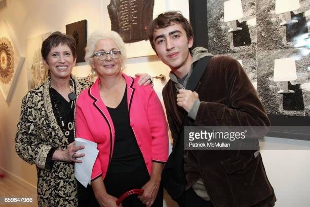 Beth Rudin DeWoody Mimi Pond and Woodrow White attend Opening of IN STITCHES Curated by BETH RUDIN DeWOODY at Leila TaghiniaMilani Heller Gallery on...