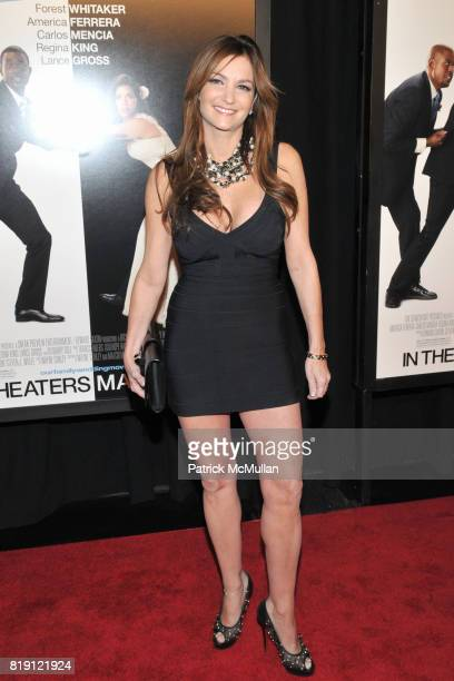 Beth Shak attends Arrivals for NY Premier of OUR FAMILY WEDDING at Loews Lincoln Square on March 9 2010 in New York City