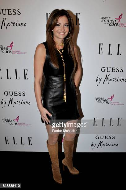 Beth Shak attends BENEFIT COCKTAIL PARTY with ELLE MAGAZINE GUESS BY MARCIANO at Guess by Marciano on February 4 2010