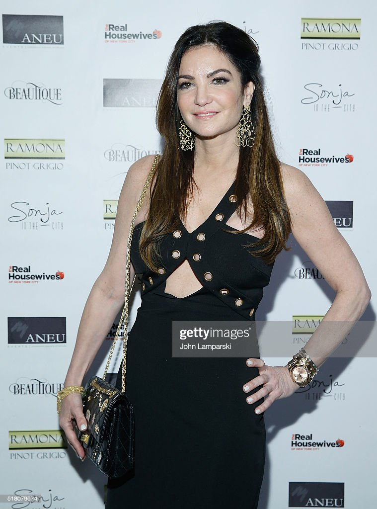 Beth Shak attends 'The Real Housewives of New York City' season 8 premiere party at Beautique on March 29, 2016 in New York City.