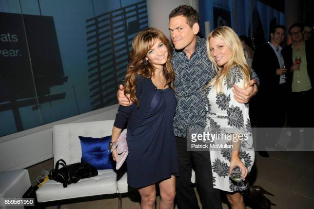 Beth Shak Vince Shlomi and Kelly Brady attend The Young Friends of The ASPCA presents 'It's Raining Cats and Dogs' Annual Fundraiser at The IAC...
