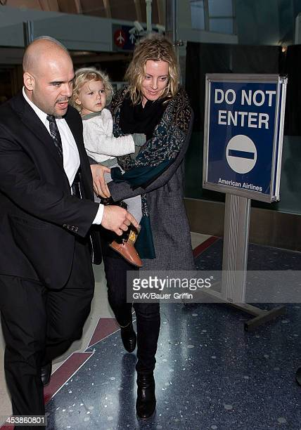 Beth Skipp is seen arriving at LAX airport on December 5 2013 in Los Angeles California