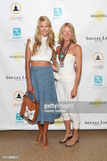 Beth Stern and Tracey Vincel Attend Healthy Guru Event at Southampton Arts Center on August 4 2018 in Southampton New York
