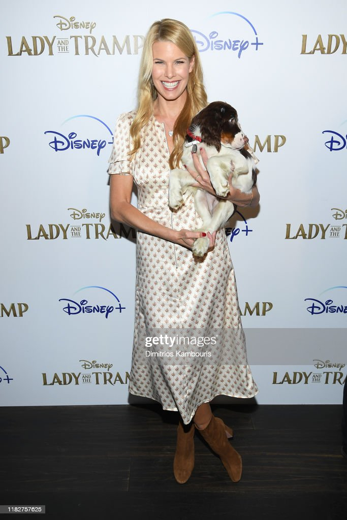 """Cinema Society Hosts Special Screening Of Disney+'s """"Lady And The Tramp"""" - Red Carpet : News Photo"""