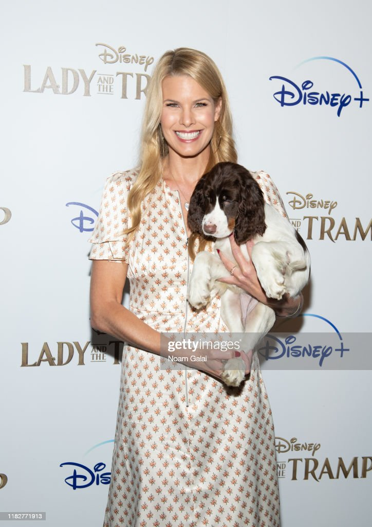"Disney+'s ""Lady And The Tramp"" New York Screening : News Photo"