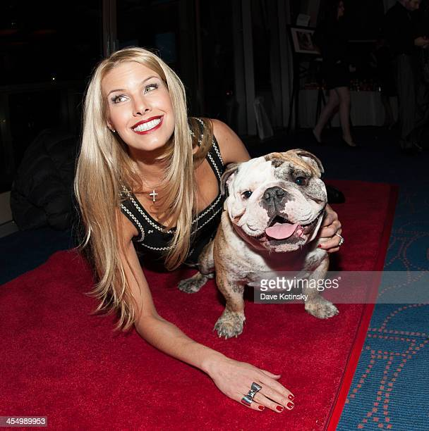 Beth Stern attends the Beth Stern Benefit For The Bulldgs event at Rosenthal Pavilion on December 10 2013 in New York City