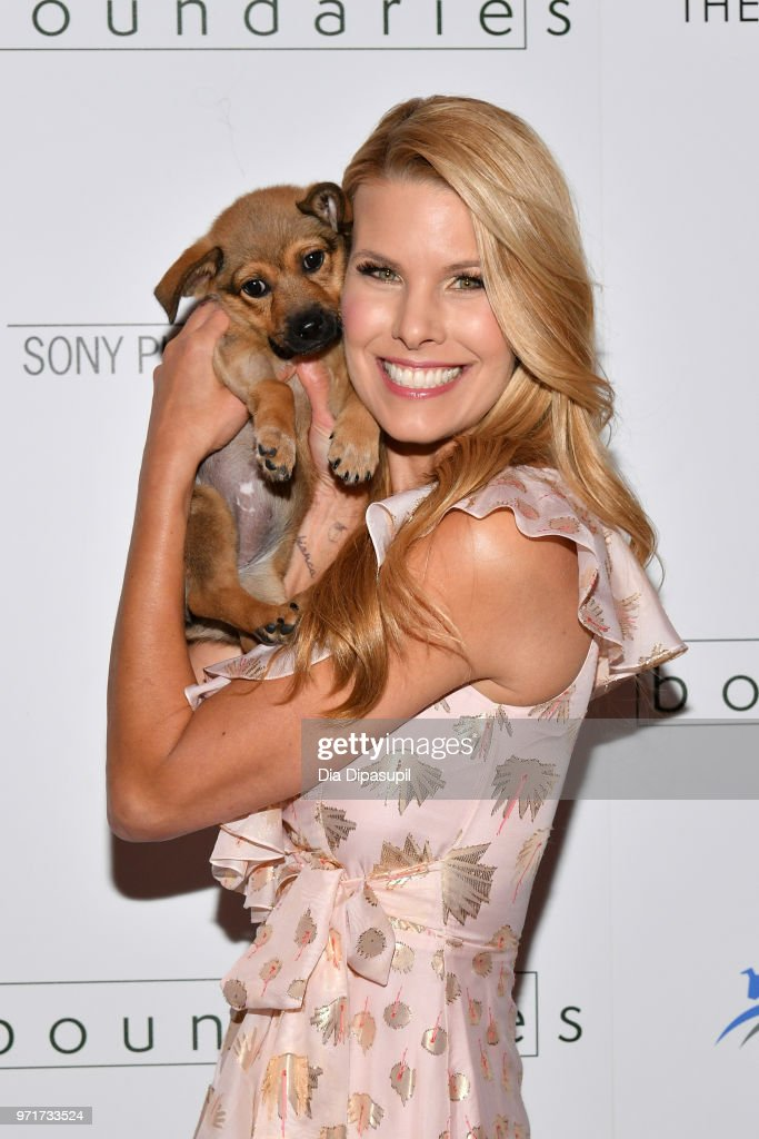Beth Stern attends the 'Boundaries' New York screening at The Roxy Cinema on June 11, 2018 in New York City.