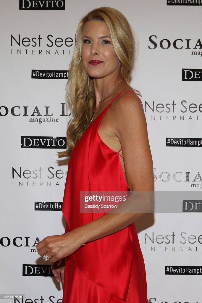 Beth Stern attends the Social Life Magazine Nest Seekers August Issue Party on August 12, 2017 in Southampton, New York.