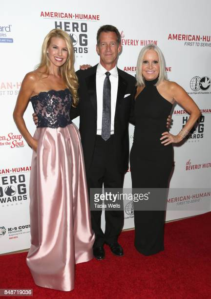 Beth Stern James Denton and Michelle Vicary at the 7th Annual American Humane Association Hero Dog Awards at The Beverly Hilton Hotel on September 16...