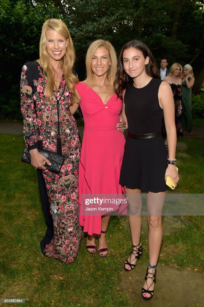 Beth Stern, Jessica Seinfeld and Sascha Seinfeld attend The GOOD+ Foundation's Hamptons Summer Dinner co-hosted by NET-A-PORTER on July 29, 2017 in East Hampton, New York.