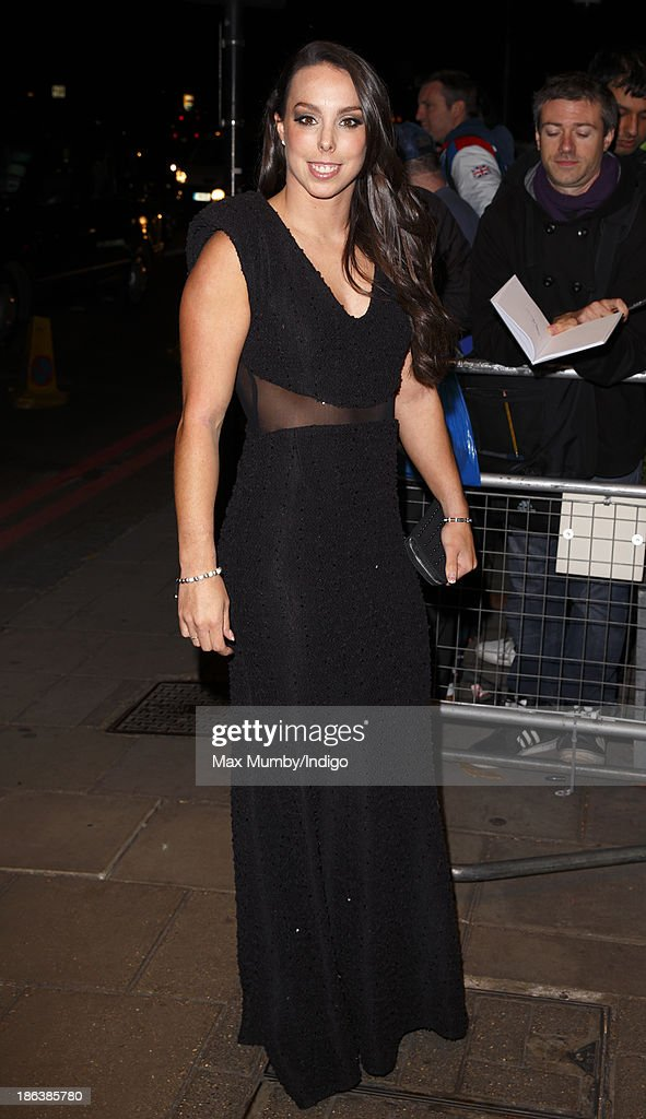 Beth Tweddle attends the British Olympic Ball at The Dorchester on October 30, 2013 in London, England.